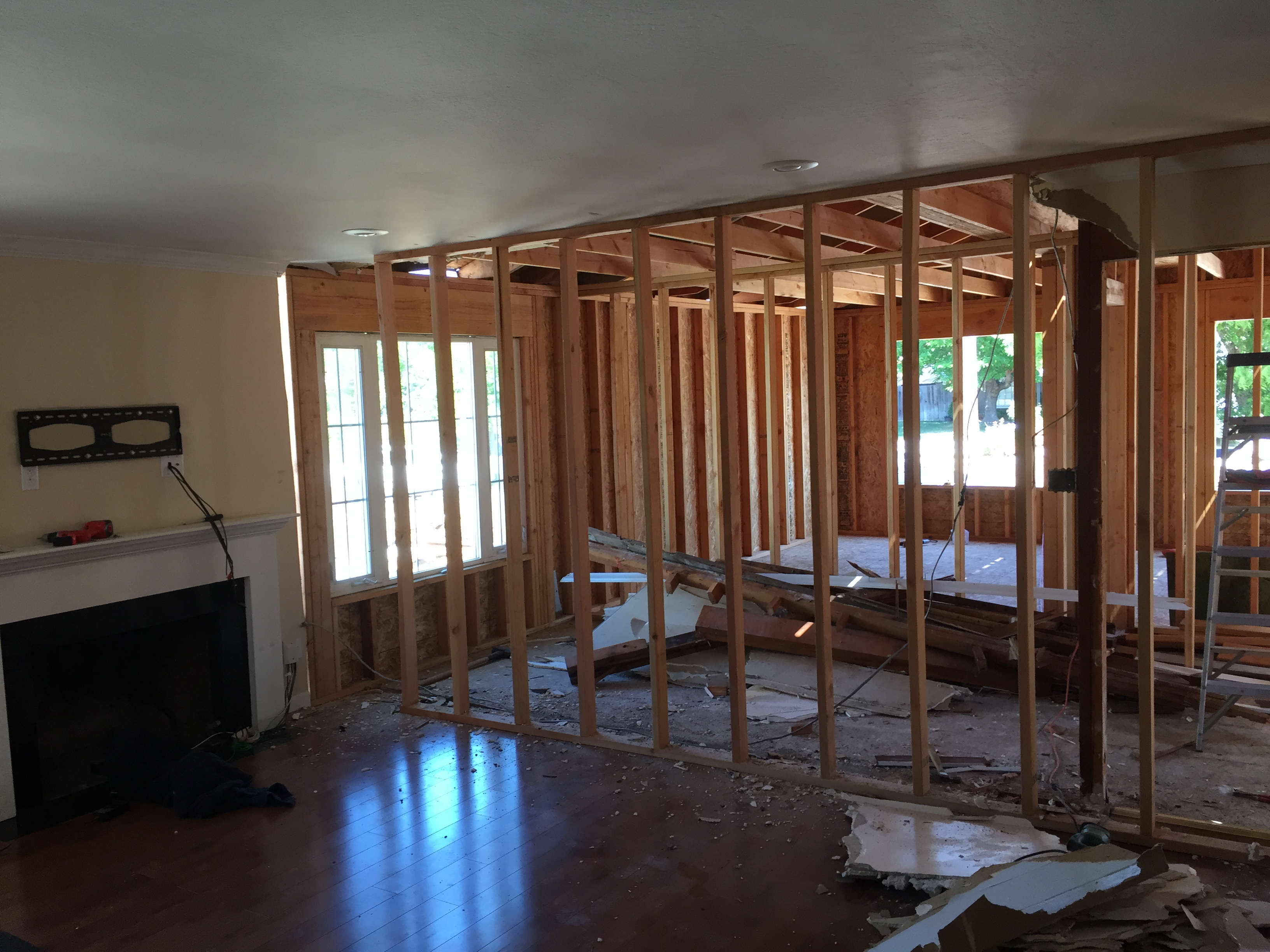 Diy Remodeling How To Add 700sqf Almost Alone Redo Wiring Old House Step 17 All The Plumbing